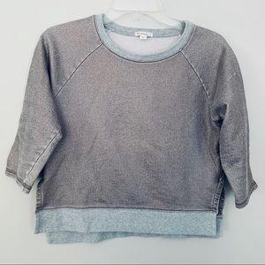 Crewcuts metallic sweatshirt